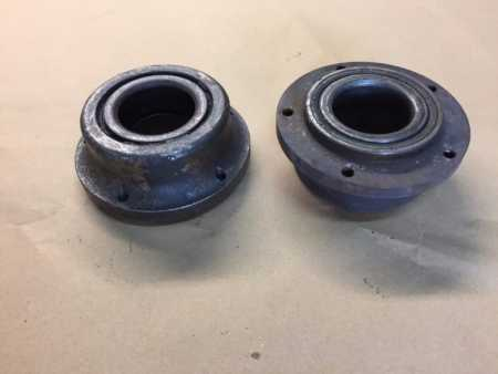 Cosworth GPA early wheel bearing adapters