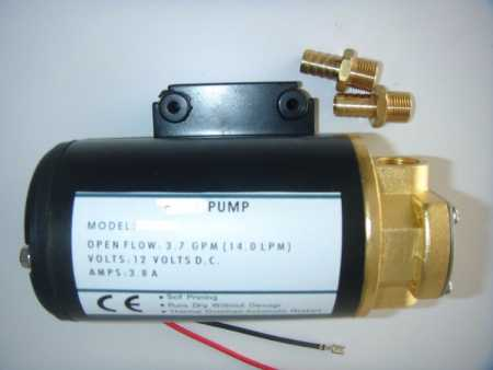 Ford Motorsport GPA differential oil pump