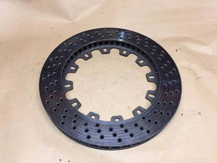 Ford Motorsport tarmac GPA 330mm x 32mm RH disc