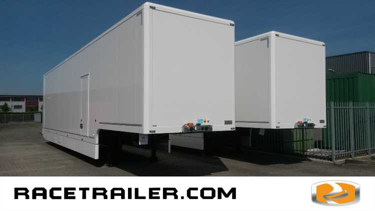 In Stock: Racetrailer including office space NEW!