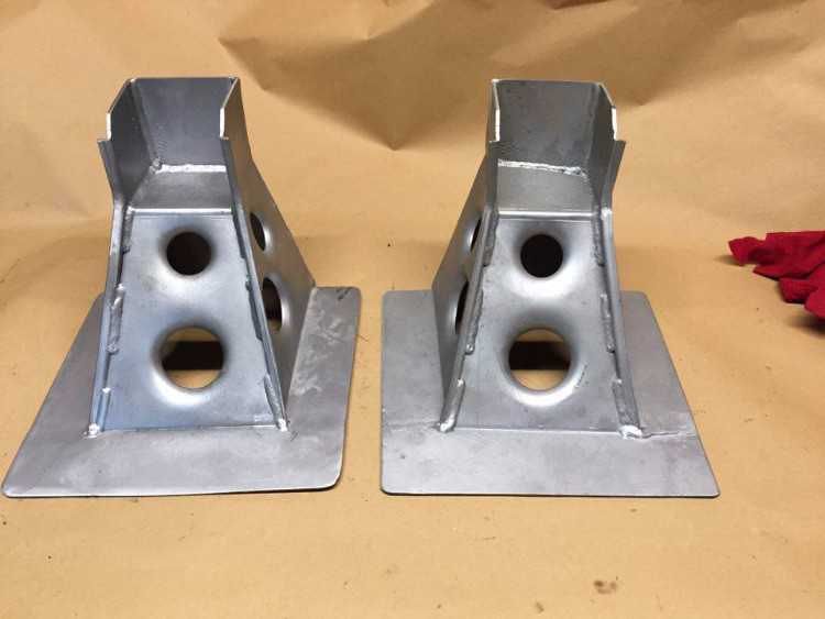 Escort Cosworth WRC / GPA weld on engine mounts