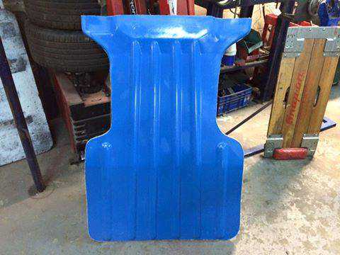 Cosworth ford Motorsport Kevlar sump guard
