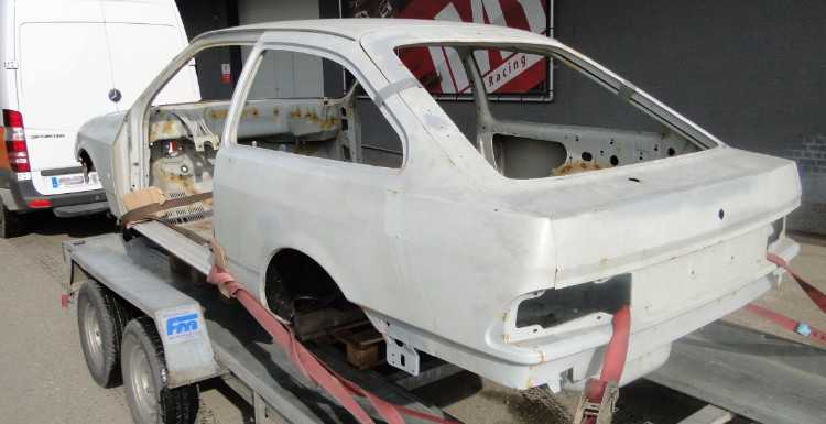 Sierra Cosworth Motorsport body shell LHD