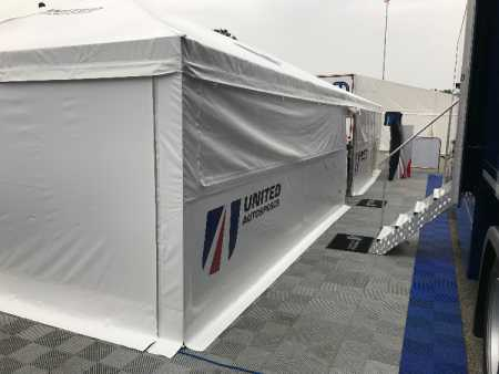 Freestanding Motorsport Awning