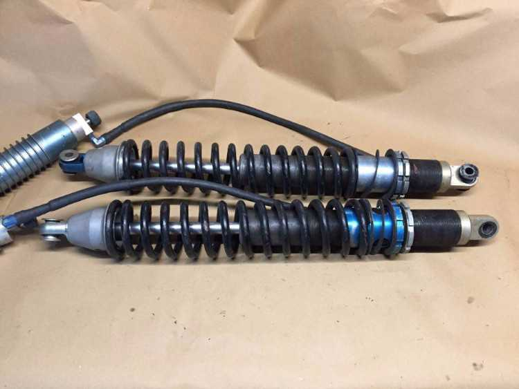 Dynamic 3 way cosworth dampers