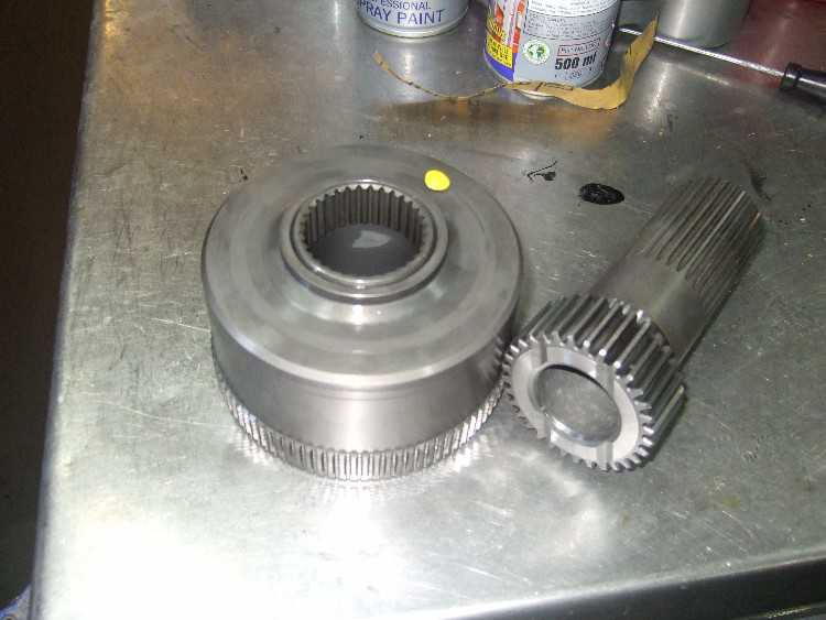 Cosworth MT75 gear box VC unit 50 NM