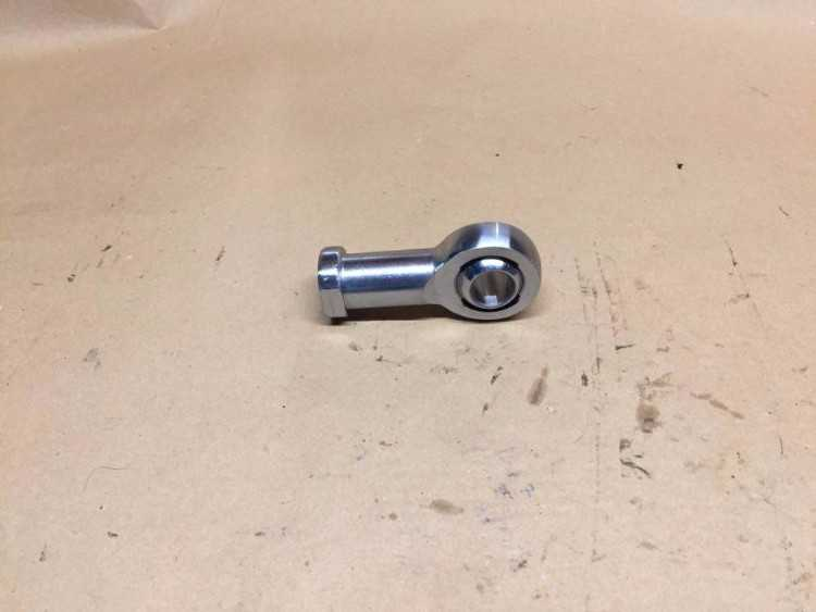Ford Cosworth GPA fully rose jointed track rod end