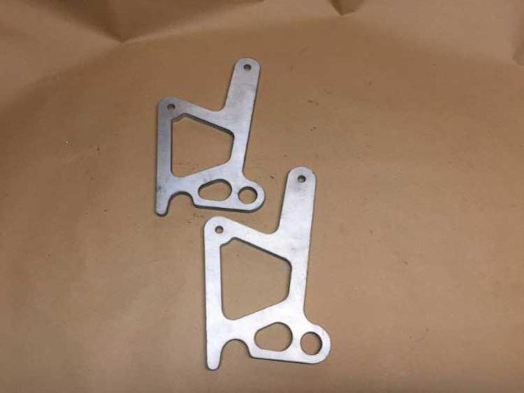 Escort Cosworth WRC rear jacking bars