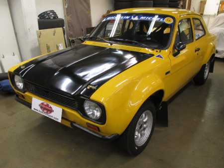 Ford Escort Twin-cam Historic Group 2