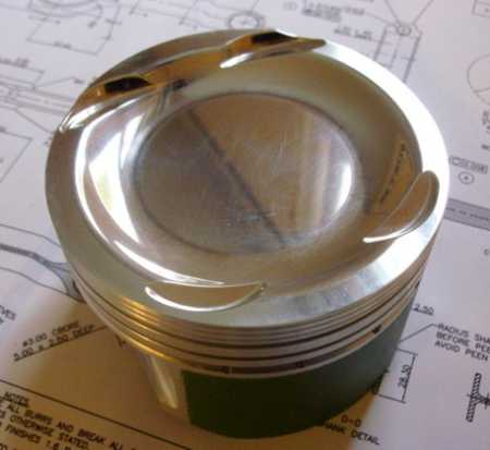 Ford Cosworth GPA forged piston set