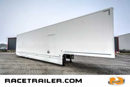 New racetrailer, 2nd deck, 4 cars, 6 beds, kitchen