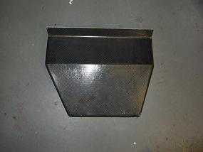 Ford Escort Cosworth carbon center console