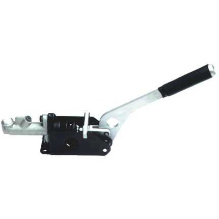 Sierra cosworth alloy fly off handbrake system