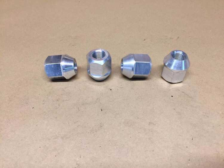 Ford Motorsport WRC/GPA 14mm alloy wheel nuts